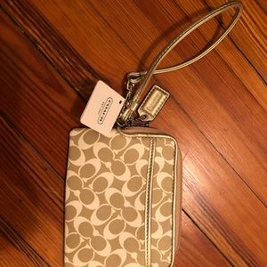 Coach Bags - Coach wristlet. Brand new never used